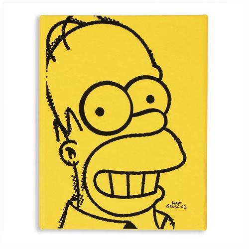 Caderneta Homer Simpson Face - Os Simpsons