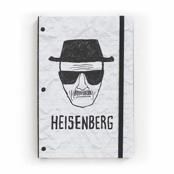 Caderneta Heisenberg - Breaking Bad