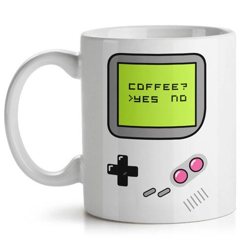 Caneca Gamer Mugboy - Coffee Yes No