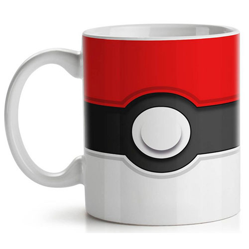 Caneca Pokebola / Pokéball - Pokémon
