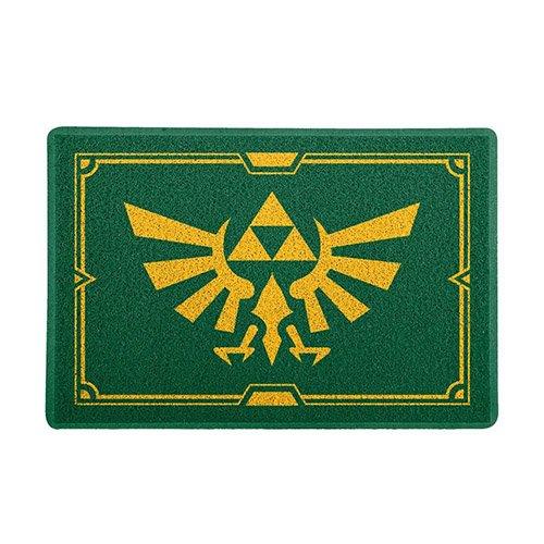 Capacho de Vinil Magia Antiga Gamer - Triforce Zelda