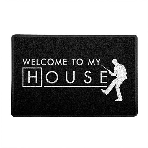 Capacho de Vinil Welcome to my House