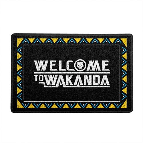 Capacho de Vinil Welcome to Wakanda - Black Panther