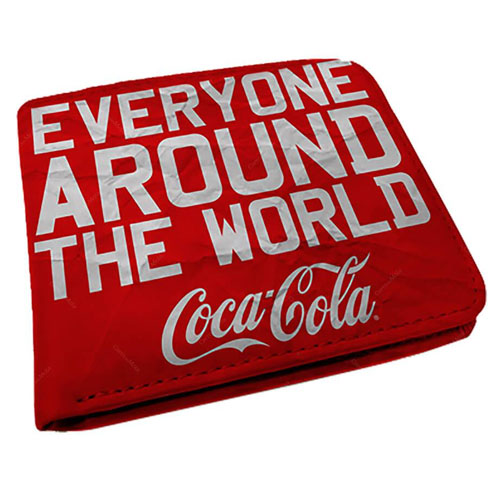 Carteira Coca-Cola - Around the World - Vermelha