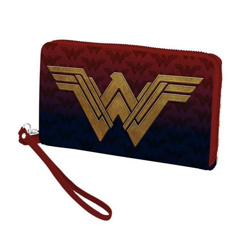 Carteira Zíper Mulher-Maravilha Wonder Woman Logo - DC Comics