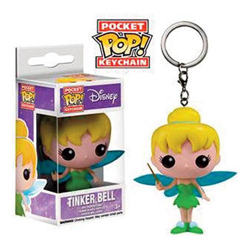 Chaveiro Fada Sininho / Tinker Bell - Funko Pop Pocket Disney Peter Pan