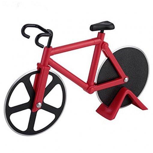 Cortador de Pizza - Bicicleta Vermelha