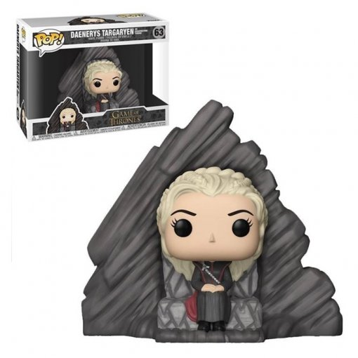 Daenerys Targaryen no Dragonstone Throne - Funko Pop Game of Thrones