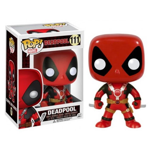 Deadpool (Two Swords / Duas Espadas) - Funko Pop Marvel Universe X-Men
