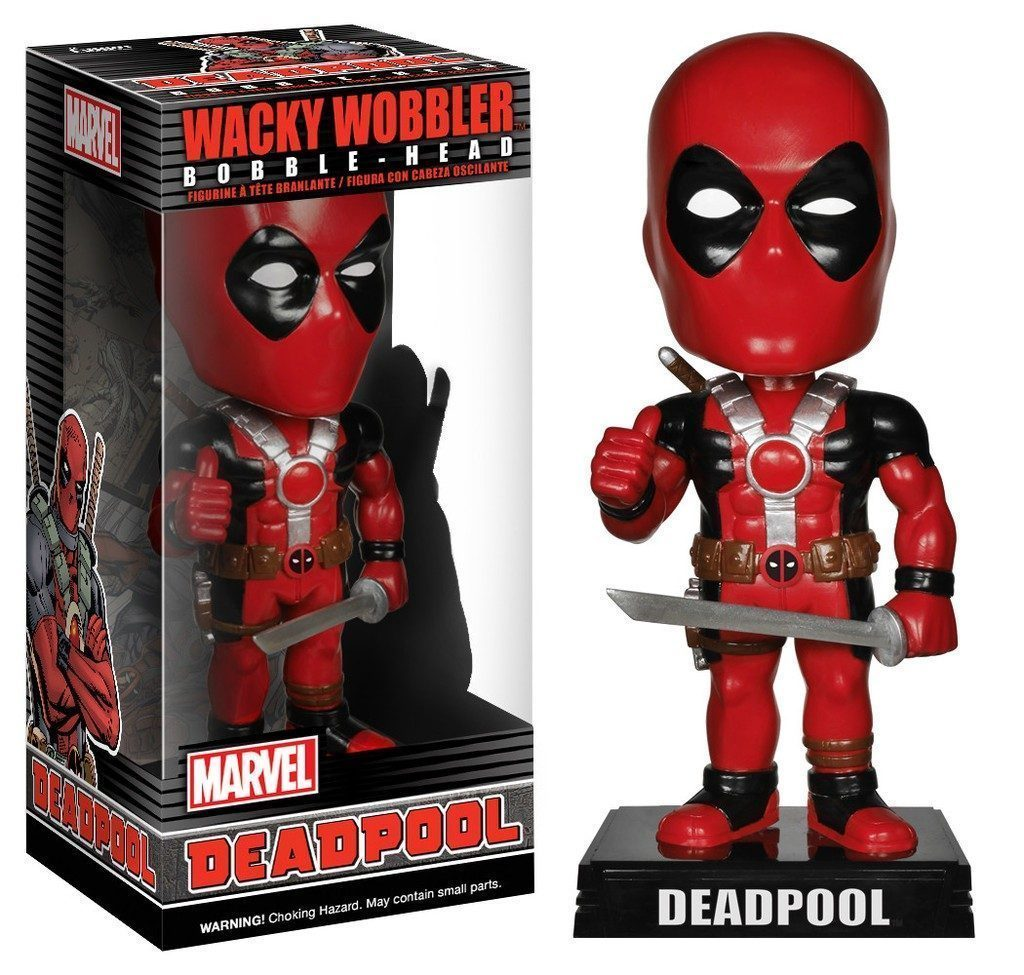 Deadpool Bobblehead - Funko Wacky Wobbler Marvel