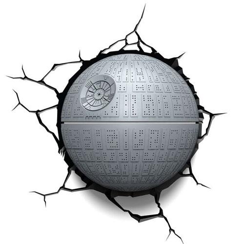 Estrela da Morte / Death Star - Luminária 3D Light FX Star Wars