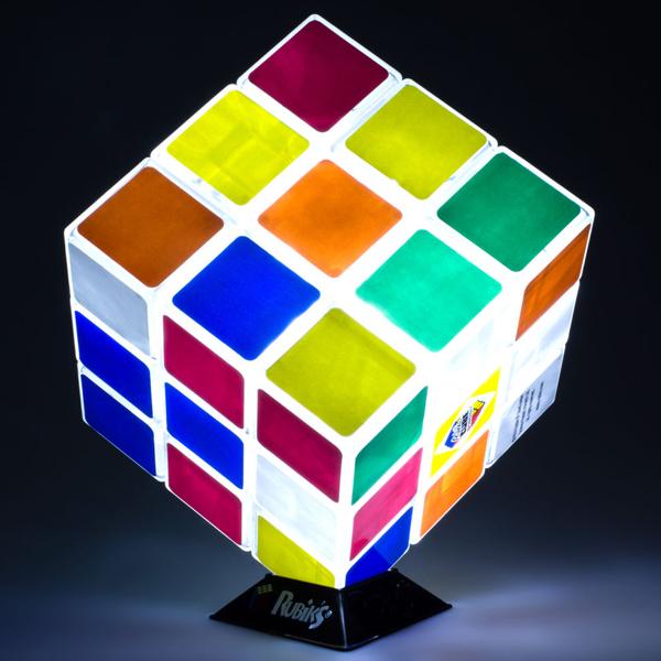 Luminária Rubik's Cube - Cubo Mágico