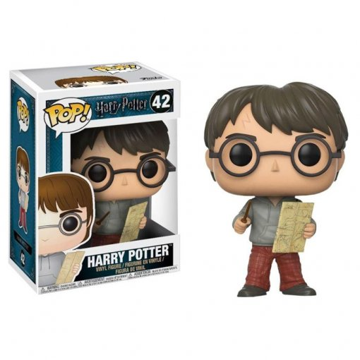 Harry Potter com Mapa do Maroto / Marauders Map - Funko Pop Harry Potter