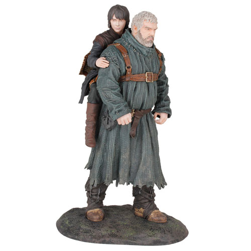 Hodor e Bran Stark - Estátua Game of Thrones - Dark Horse