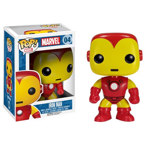 Homem de Ferro / Iron Man Clássico - Funko Pop Marvel Universe Avengers
