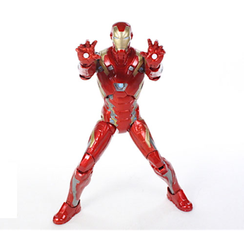 Iron Man / Homem de Ferro Mark 46 - Action Figure Marvel Select Captain America Civil War