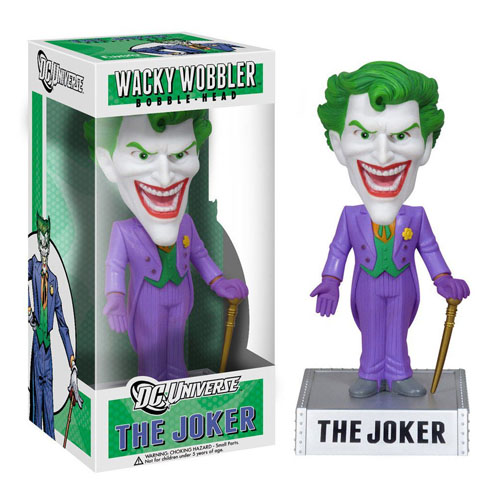 Joker / Coringa - Bobble Head DC Comics Universe - Wacky Wobbler