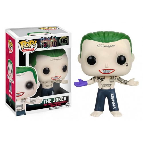 Joker / Coringa  - Funko Pop Suicide Squad / Esquadrão Suicida - DC Comics