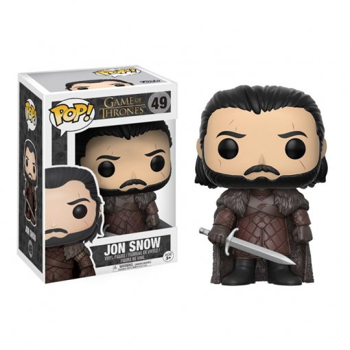 Jon Snow com Longclaw / Garralonga - Funko Pop Game of Thrones