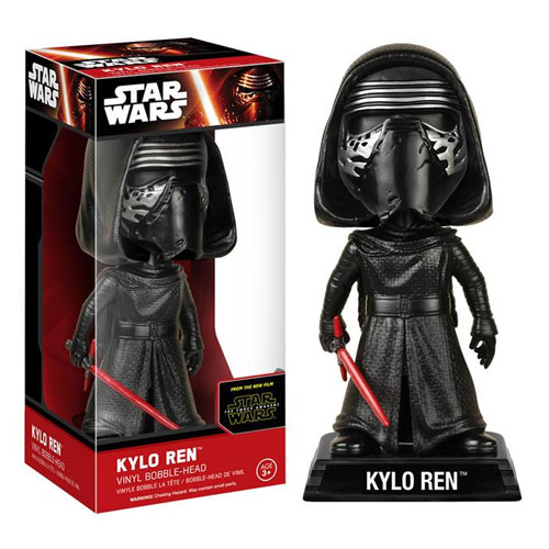 Kylo Ren - Bobble Head Star Wars The Force Awakens - Funko Wacky Wobbler