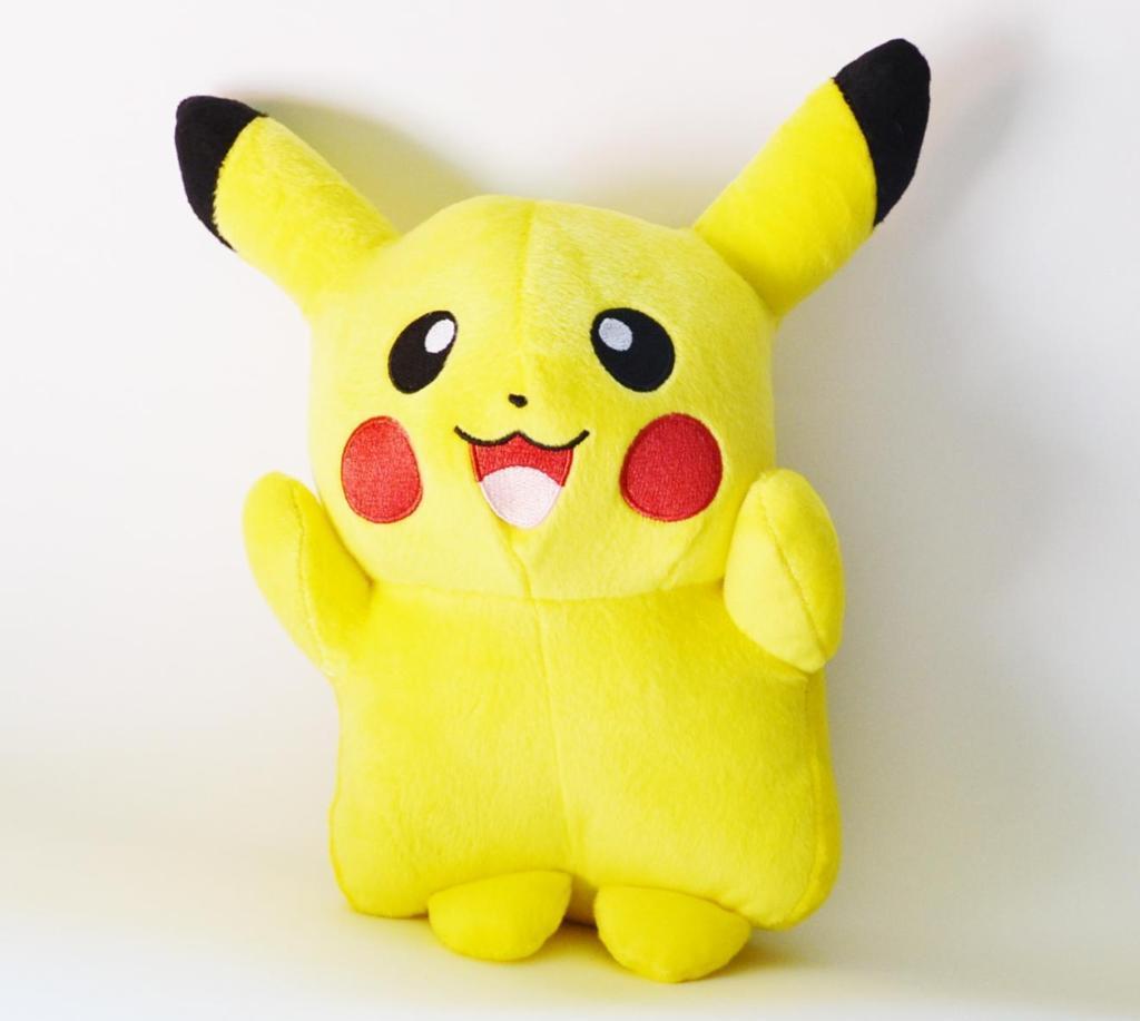 Pikachu - Pelúcia Pokémon - Grande