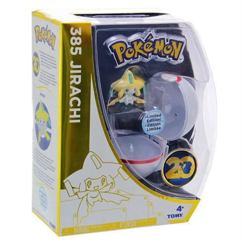 Pokebola / Premier Ball com Jirachi - Pokemon Edição Limitada 20 Anos