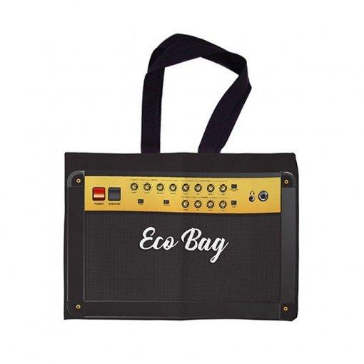 Sacola Ecobag Rock Mercado - Amplificador