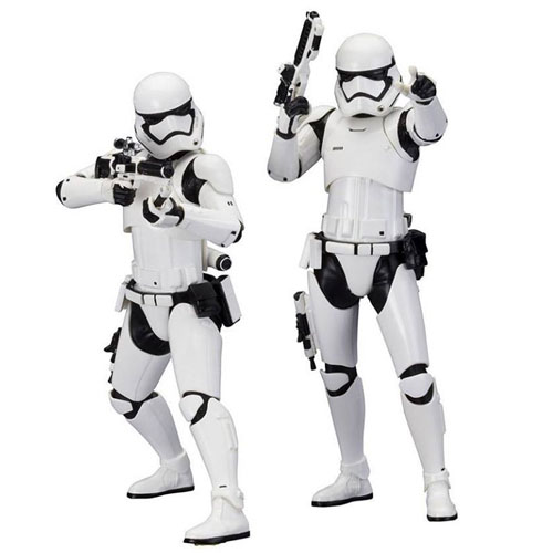 Stormtrooper First Order 2-Pack Star Wars - Estátuas ArtFX+ Kotobukiya The Force Awakens