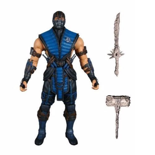 Sub-Zero - Action Figure Mortal Kombat X - Mezco