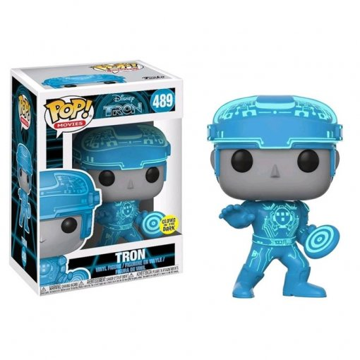 Tron (Versão Brilha no Escuro) - Funko Pop Disney Movies Tron
