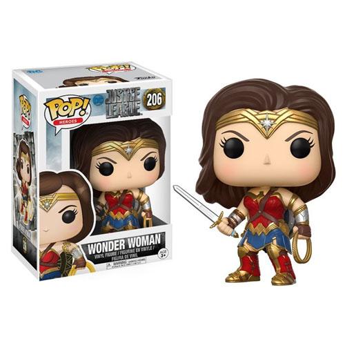Wonder Woman / Mulher-Maravilha - Funko Pop Justice League / Liga da Justiça DC Comics