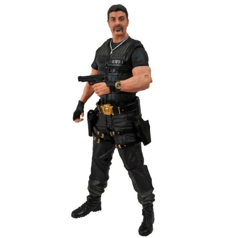 Imagem - Barney Ross /  Sylvester Stallone - Action Figure The Expendables 2 / Os Mercenários 2 cód: CB4