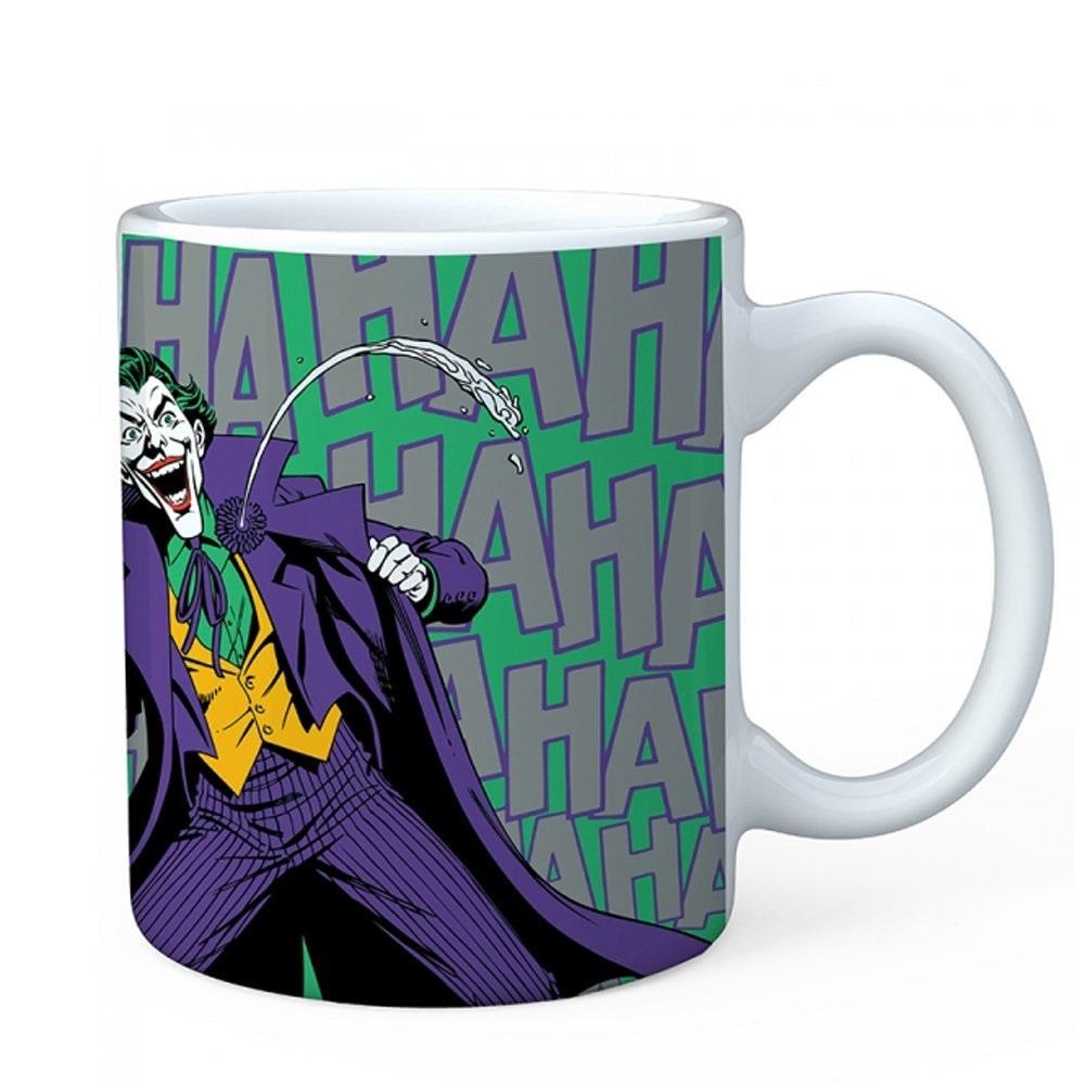 Imagem - Caneca de Porcelana - Risada do Coringa / Joker - DC Comics cód: GC9