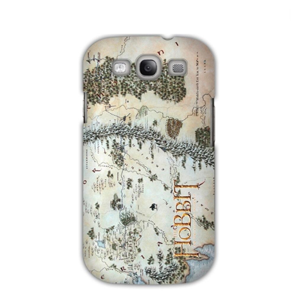 Imagem - Capa Galaxy S3 - Mapa Middle Earth / Terra Média - O Hobbit cód: AD47