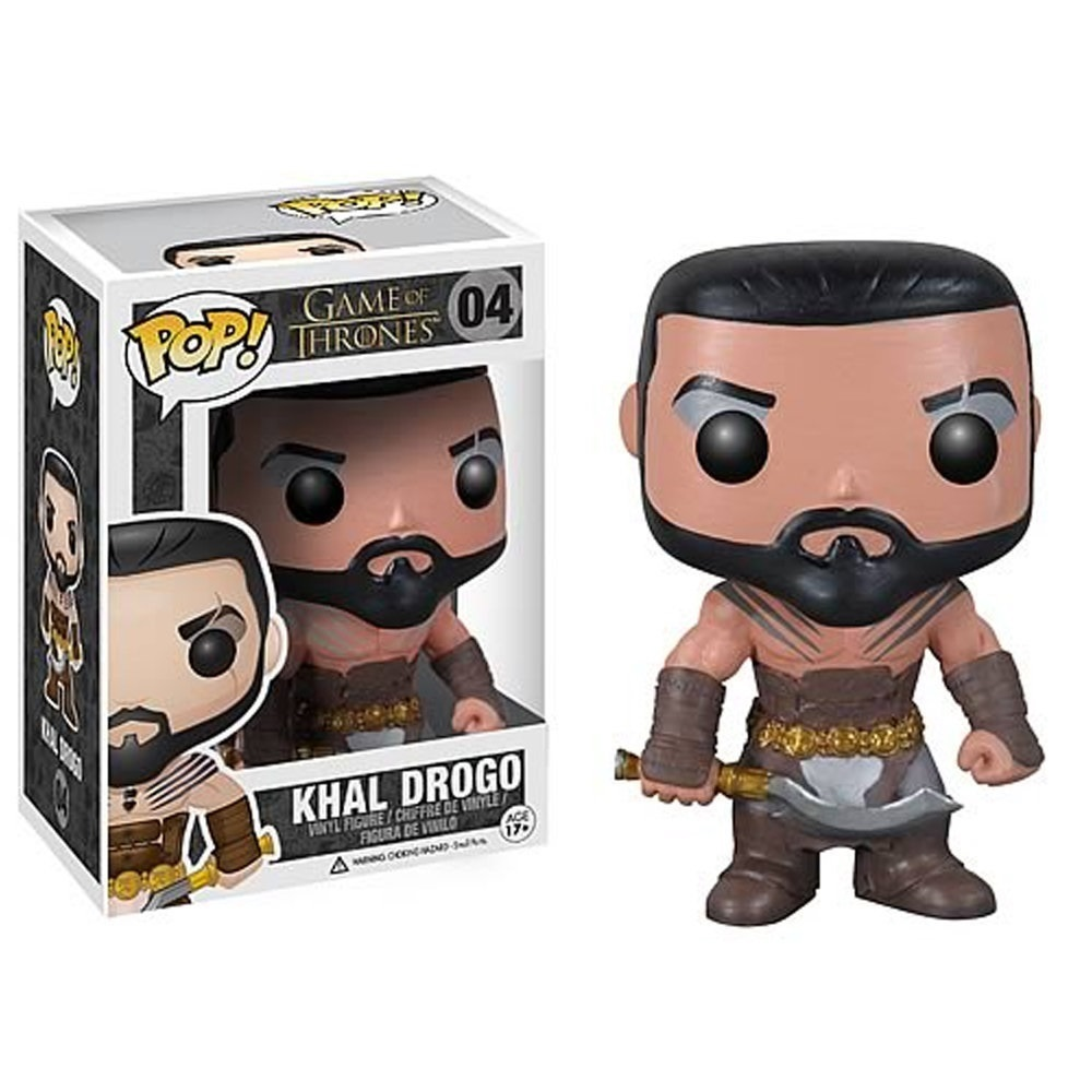 Imagem - Khal Drogo - Funko Pop Game of Thrones cód: CC22