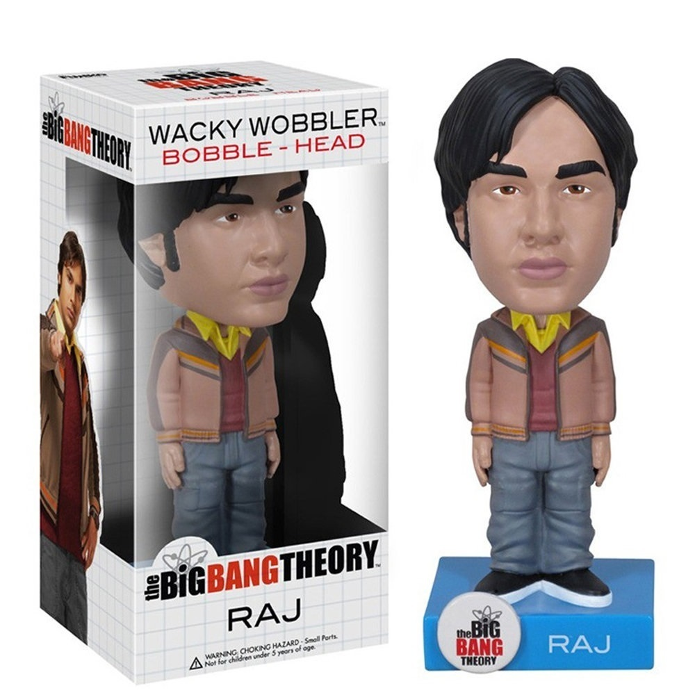Imagem - Raj - The Big Bang Theory Bobblehead - Funko Wacky Wobbler cód: CE29