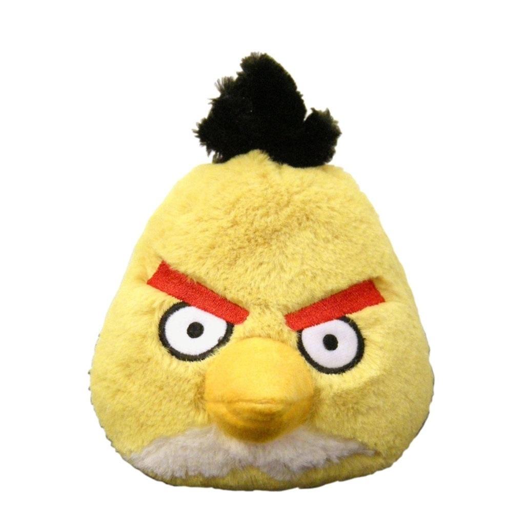 Imagem - Pelúcia Angry Birds - Bird Amarelo cód: CD16