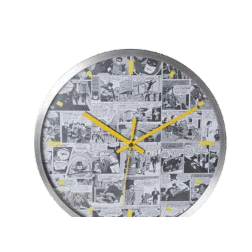 Imagem - Relógio de Parede Quadrinhos Preto e Branco - DC Comics cód: GE13