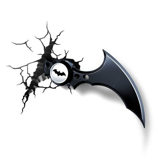 Imagem - Batarang Batman Arkham Knight - Luminária 3D Light FX DC Comics cód: GD26