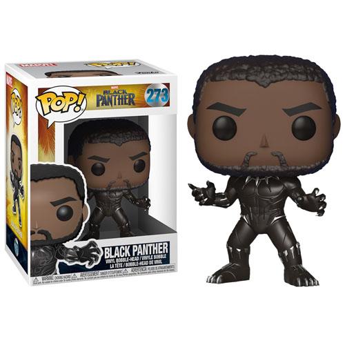 Imagem - Black Panther / Pantera Negra sem Máscara - Funko Pop Black Panther cód: CC266