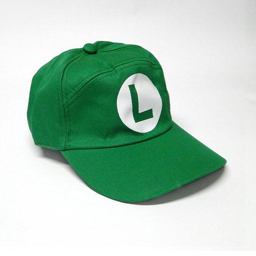 Imagem - Boné Luigi - Mario Bros - Verde cód: VC31