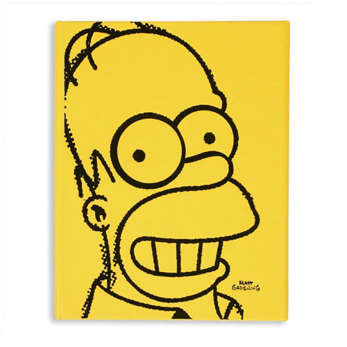 Imagem - Caderneta Homer Simpson Face - Os Simpsons cód: GF41