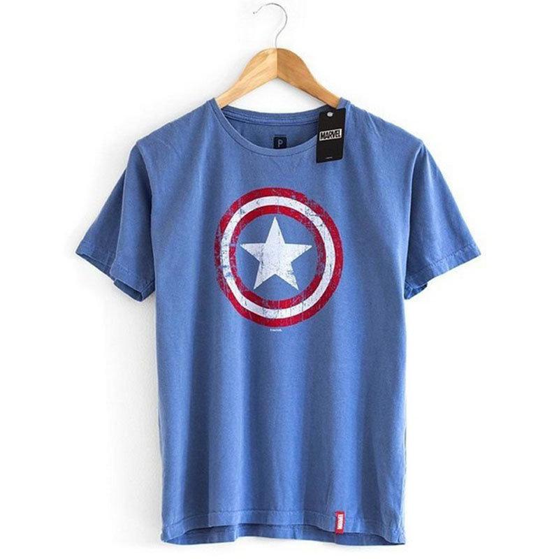 Imagem - Camiseta Escudo Capitão América / Captain America - Masculina cód: VA148