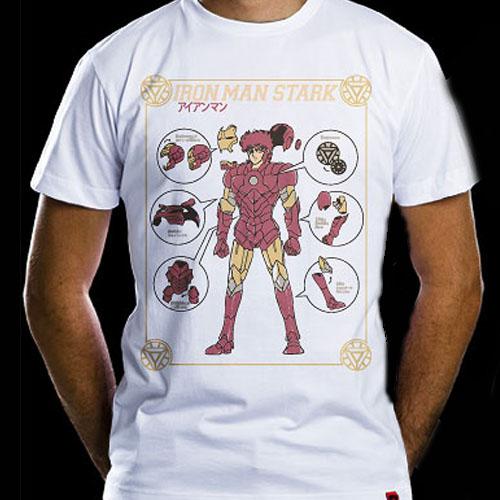Imagem - Camiseta - Armadura de Ferro - Masculina cód: VA100