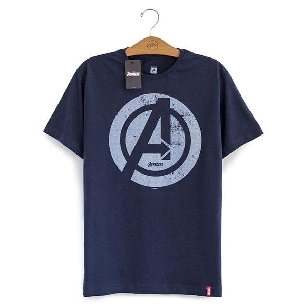 Imagem - Camiseta Vingadores / Avengers - A Era de Ultron Logo cód: VA101
