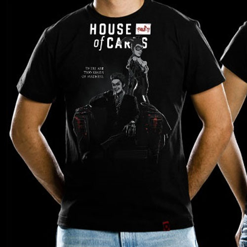 Imagem - Camiseta House of Cards - Joker e Arlequina cód: VA161