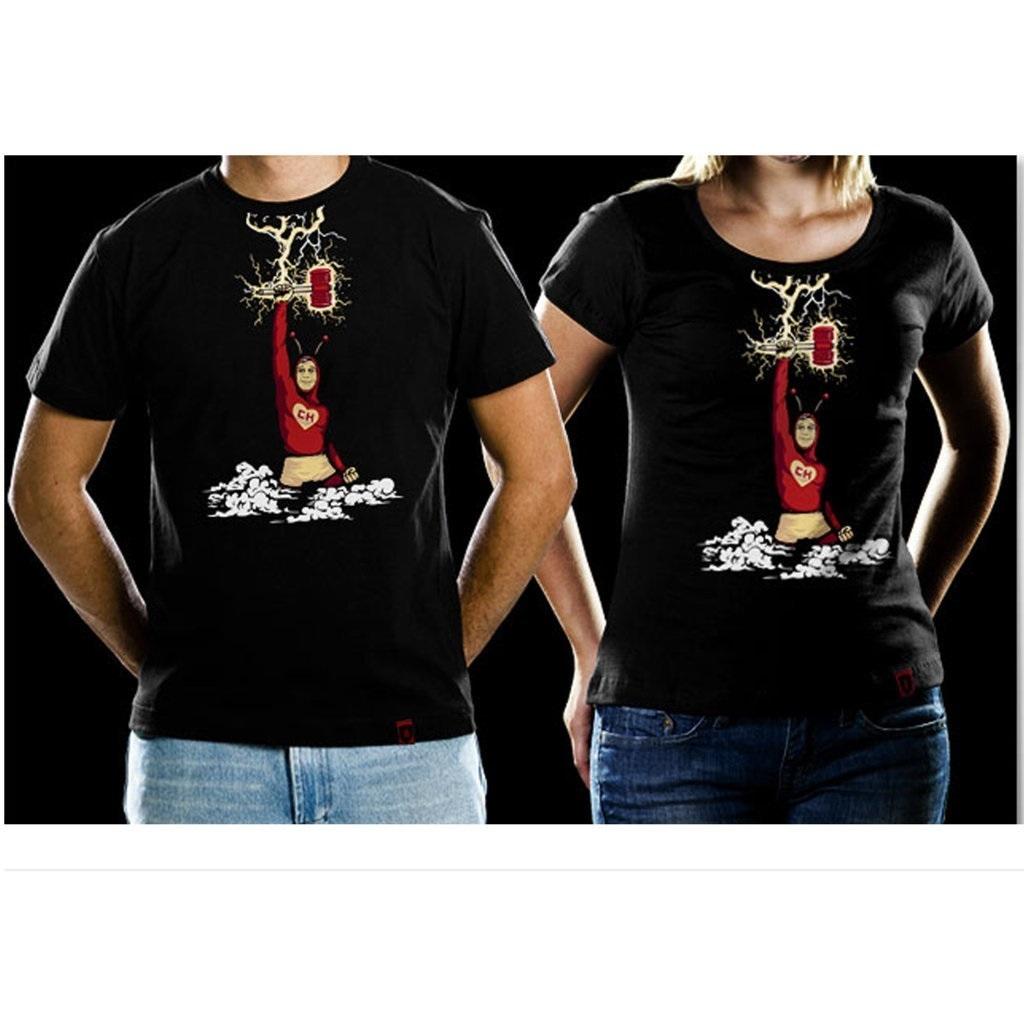 Imagem - Camiseta Marreta Biônica Chapolin Colorado- Feminina cód: VB59