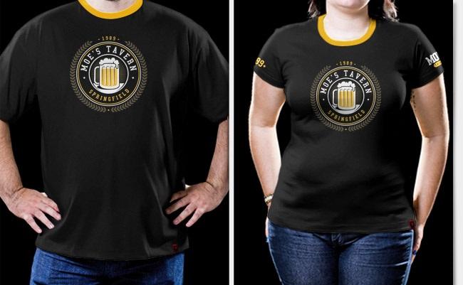 Imagem - Camiseta Moe's Tavern - Simpsons - Masculina cód: VA189