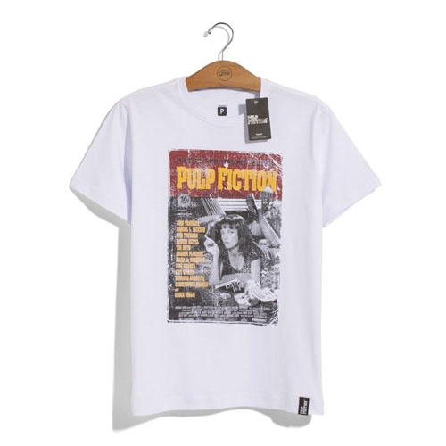 Imagem - Camiseta Pulp Fiction Poster - Tarantino Collection cód: VA183