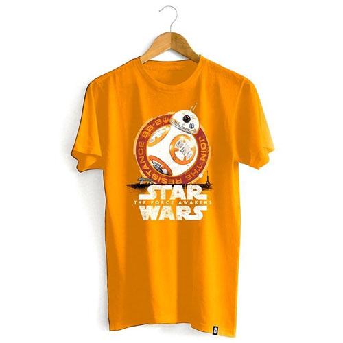 Imagem - Camiseta Star Wars - BB-8 Desert Laranja cód: VA173